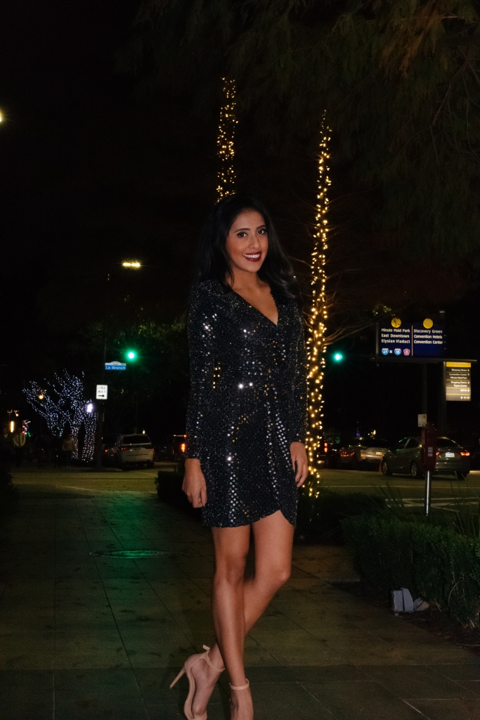 91ae74970ccf Today's blog post I wanted to share one of my favorite dresses that would  look perfect for this NYE. It is so stylish and UNDER $30 (which is the  BEST part.